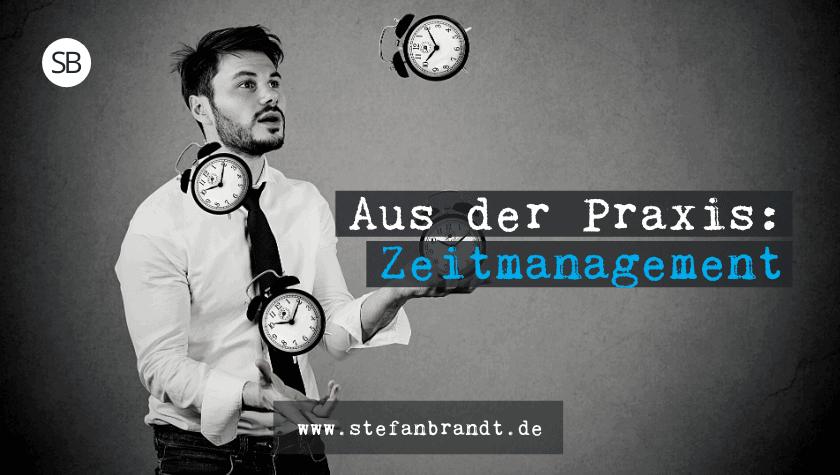 Zeitmanagement verbessern - www.stefanbrandt.de