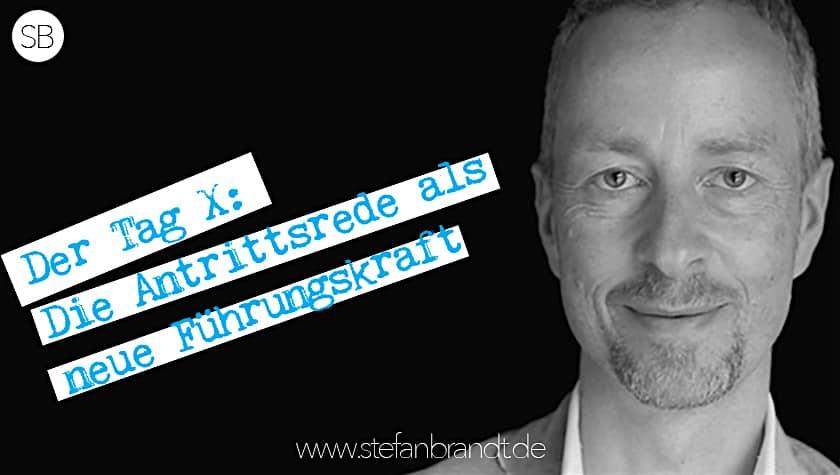 IFG003 Der Tag X: Wie Sie Ihre Antrittsrede als Führungskraft optimal vorbereiten.