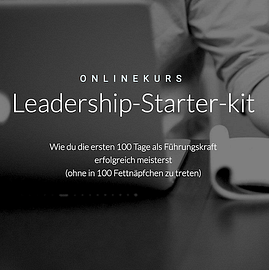Mit mir arbeiten - Leadership-Starter-kit