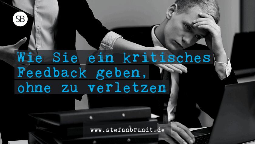 Feedback geben - www.stefanbrandt.de