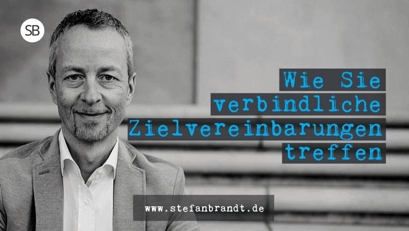 Verbindliche Zielvereinbarungen - www.stefanbrandt.de